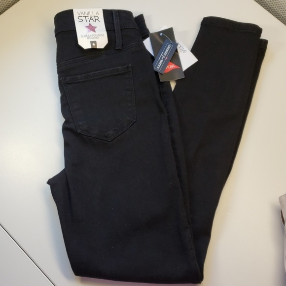 Vanilla Star Denim - 3/$50 - *NEW* Black Super High-rise Jeggings